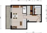 Vorschaubild für Wohnung:  Schöpsdorfer Str. 33 (Hoyerswerda) 1