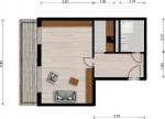 Vorschaubild für Wohnung:  Straße des Friedens 5 (Hoyerswerda) 1
