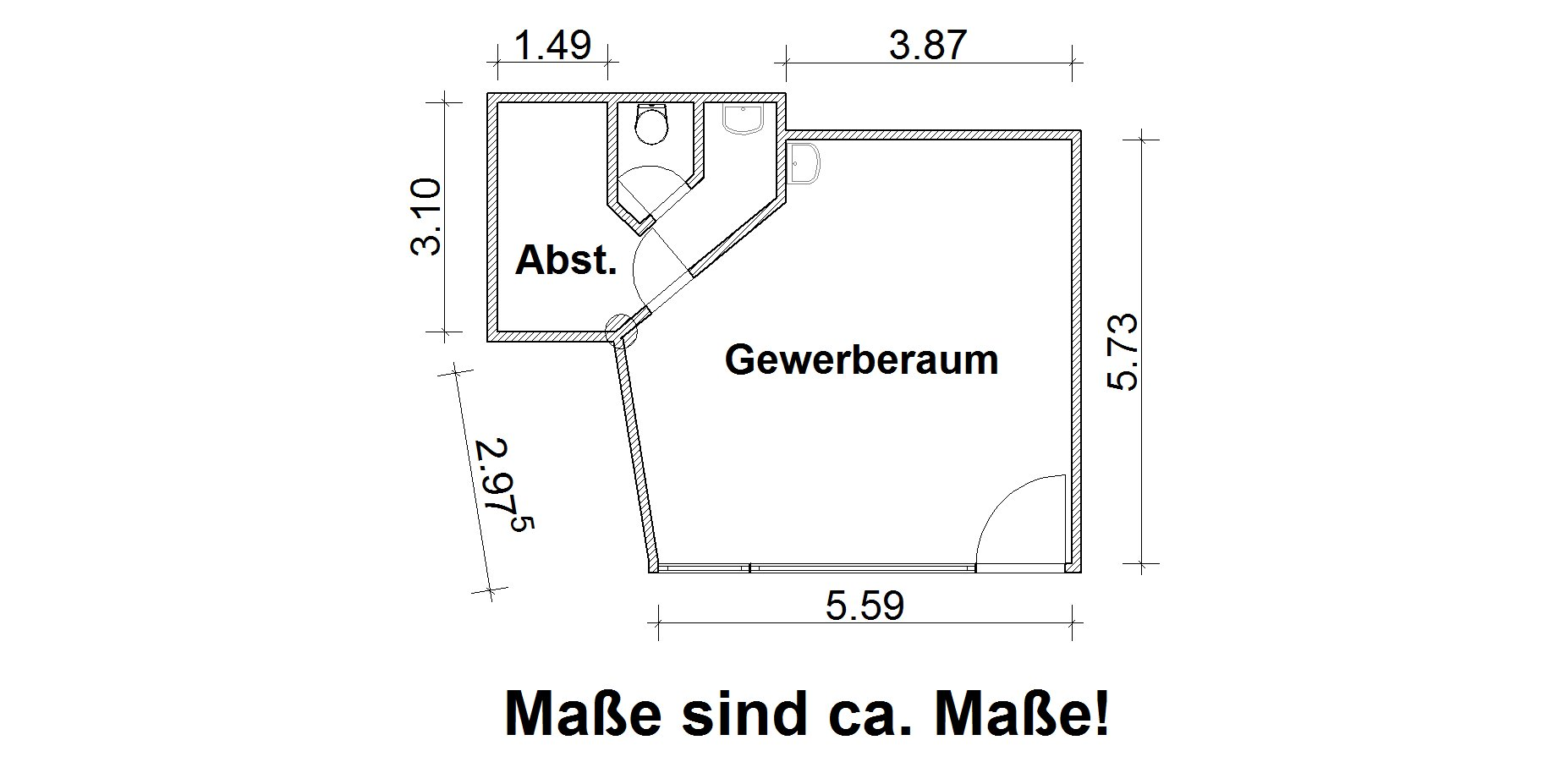 Vorschaubild für Wohnung:  Senftenberger Str. 1 (Hoyerswerda) 1