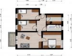 Vorschaubild für Wohnung:  Bautzener Allee 18 (Hoyerswerda) 1