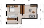 Vorschaubild für Wohnung:  Ziolkowskistr. 9 (Hoyerswerda) 1