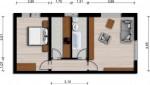 Vorschaubild für Wohnung:  Friedrich-Ludwig-Jahn-Str. 26 (Hoyerswerda) 1