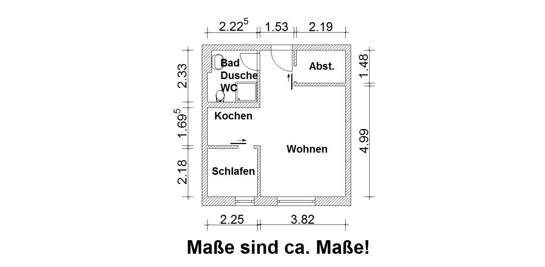 Vorschaubild für Wohnung:  Heinrich-Mann-Straße 22 (Hoyerswerda) 1