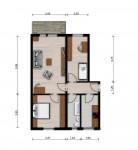 Vorschaubild für Wohnung:  Einstein-Str. 48 (Lauta) 1
