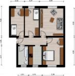 Vorschaubild für Wohnung:  Bachstr. 5 (Lauta) 1