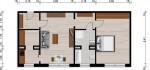 Vorschaubild für Wohnung:  Erich-Weinert-Straße 46 (Hoyerswerda) 1