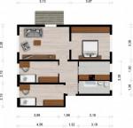 Vorschaubild für Wohnung:  Röntgenstr. 32 (Hoyerswerda) 1