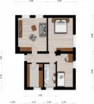 Vorschaubild für Wohnung:  Siedlung 18 (Spreetal/OT Burgneudorf) 1