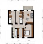Vorschaubild für Wohnung:  Siedlung 15 (Spreetal) 1