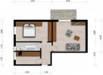 Vorschaubild für Wohnung:  Ulrich-v.-Hutten-Str. 21 (Hoyerswerda) 1