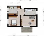Vorschaubild für Wohnung:  L.-v.-Beethoven-Str. 20 (Hoyerswerda) 1