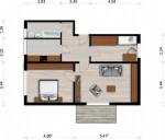 Vorschaubild für Wohnung:  Semmelweisstr. 9 (Hoyerswerda) 1