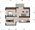 Vorschaubild für Wohnung:  Hufelandstr. 21 (Hoyerswerda) 1