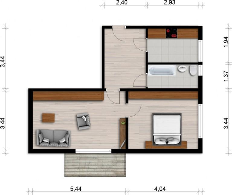 Vorschaubild für Wohnung:  Georg-Friedrich-Händel-Str. 1 (Hoyerswerda) 1