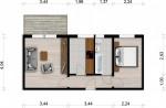 Vorschaubild für Wohnung:  Hufelandstr. 18 (Hoyerswerda) 1