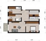 Vorschaubild für Wohnung:  J.-S.-Bach-Str. 4 (Hoyerswerda) 1