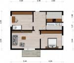 Vorschaubild für Wohnung:  J.-S.-Bach-Str. 24 (Hoyerswerda) 1