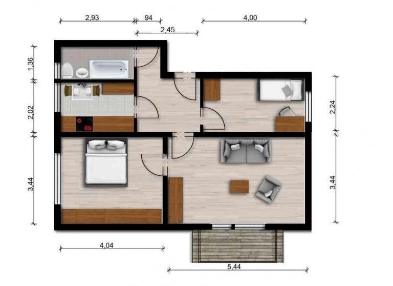 Vorschaubild für Wohnung:  Semmelweisstr. 19 (Hoyerswerda) 1