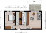 Vorschaubild für Wohnung:  Friedrich-Ludwig-Jahn-Str. 36 (Hoyerswerda) 1