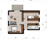 Vorschaubild für Wohnung:  Ulrich-v.-Hutten-Str. 2 (Hoyerswerda) 1