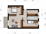 Vorschaubild für Wohnung:  Virchowstr. 20 (Hoyerswerda) 1