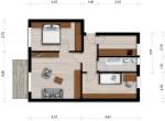 Vorschaubild für Wohnung:  Virchowstr. 18 (Hoyerswerda) 1
