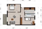 Vorschaubild für Wohnung:  Juri-Gagarin-Str. 19 (Hoyerswerda) 1