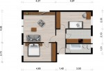 Vorschaubild für Wohnung:  Hufelandstr. 27 (Hoyerswerda) 1