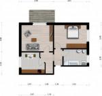 Vorschaubild für Wohnung:  Ulrich-v.-Hutten-Str. 23 (Hoyerswerda) 1