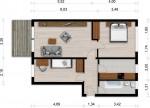 Vorschaubild für Wohnung:  Teschenstr. 17 (Hoyerswerda) 1