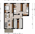 Vorschaubild für Wohnung:  Einstein-Str. 51 (Lauta) 1