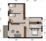 Vorschaubild für Wohnung:  Scadoer Str. 30 (Hoyerswerda) 1