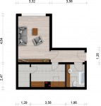 Vorschaubild für Wohnung:  Curiestr. 21 (Hoyerswerda) 1