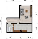Vorschaubild für Wohnung:  Curiestr. 17 (Hoyerswerda) 1