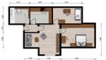 Vorschaubild für Wohnung:  Curiestr. 32 (Hoyerswerda) 1