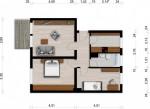 Vorschaubild für Wohnung:  Am Elsterbogen 15 (Hoyerswerda) 1