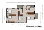 Vorschaubild für Wohnung:  Otto-Nagel-Str. 1 (Hoyerswerda) 1
